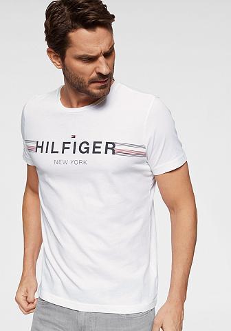 TOMMY HILFIGER Marškinėliai »CORP FLAG TEE«