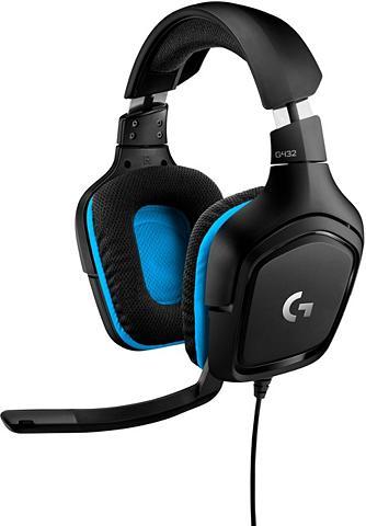 Logitech G »G432 - LEATHERETTE - EMEA« Gaming-Hea...