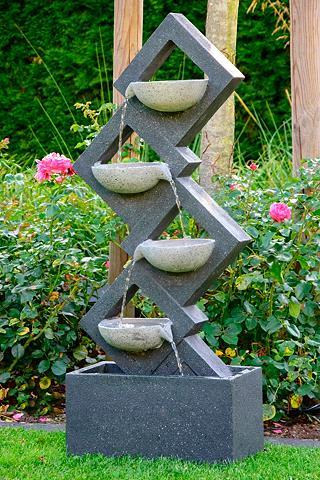 DOBAR Sodo fontanas BxTxH: ca. 415x205x1005 ...