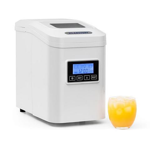 Klarstein Eiswürfelmaschine Eiswürfelbereiter Ei...