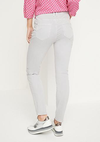 COMMA Coloured džinsai su smarten detalės
