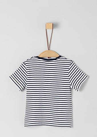 S.OLIVER RED LABEL JUNIOR Dryžuoti marškinėliai su Artwork dėl B...