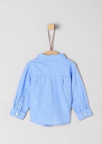 S.OLIVER JUNIOR Marškiniai su Ripsbandbeleg dėl Babys