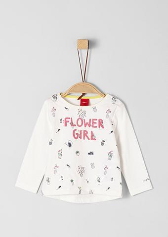 S.OLIVER RED LABEL JUNIOR Marškinėliai ilgomis rankovėmis su Fro...