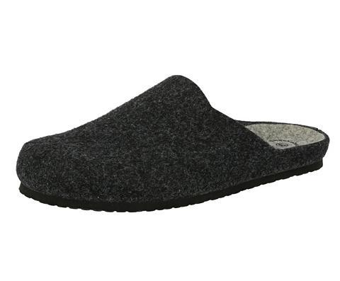 LICO Šlepetės »Pantolette Natural Filz«