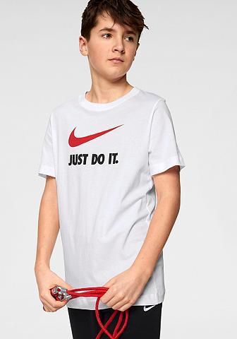 Nike Sportswear Marškinėliai »BOYS TEE JUST DO IT SWOO...
