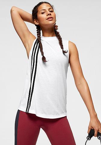 ADIDAS PERFORMANCE Marškinėliai be rankovių »W MH 3 STRIP...