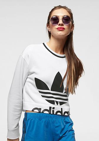 ADIDAS ORIGINALS Sportinio stiliaus megztinis »CROPPED ...