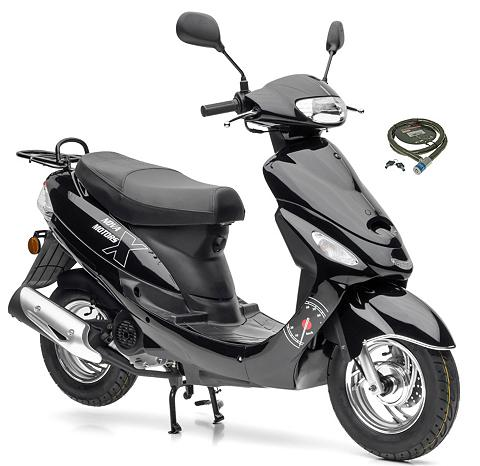 NOVA MOTORS Motoroleris »City Star« 49 ccm 45 km/h...