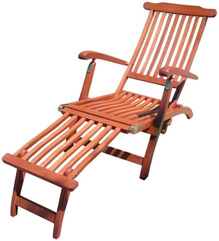 GARDEN PLEASURE Paplūdimio kėdė »Phoenix« Eukalyptusho...
