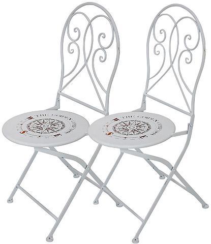 GARDEN PLEASURE Poilsio kėdė »Bayo« (2 vnt. rinkinys) ...
