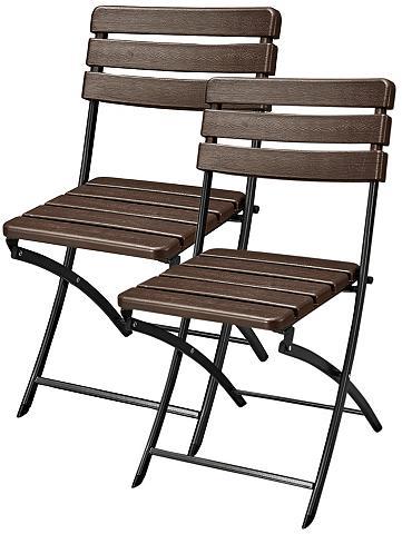 GARDEN PLEASURE Poilsio kėdė »Tabora« (2 vnt. rinkinys...