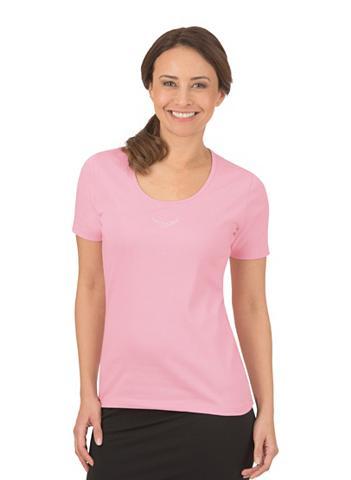 TRIGEMA Marškinėliai su Swarovski® kristalai