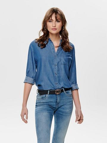 ONLY Oversize tipo džinsiniai marškinėliai
