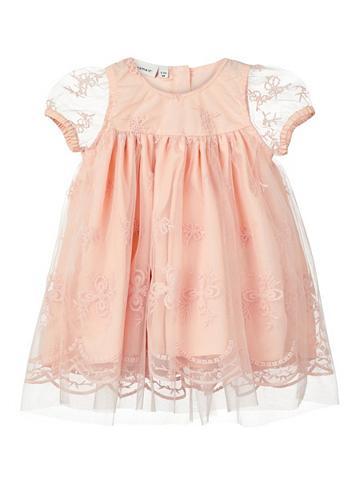 NAME IT Siuvinėtas Tiulio suknelė
