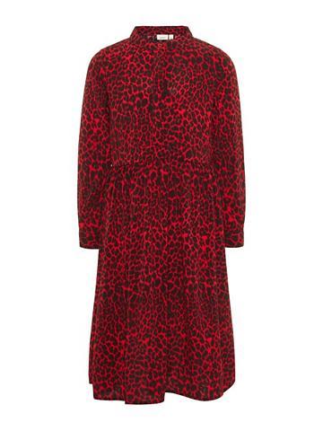 NAME IT Ilga Leopardenmuster suknelė