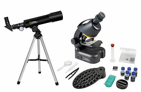 NATIONAL GEOGRAPHIC Teleskop ir Mikroskop »Kompakt su Smar...