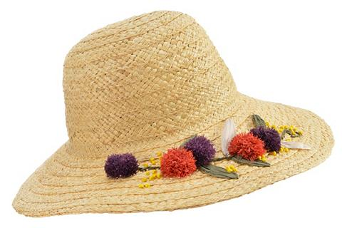SEEBERGER šiaudinė skrybėlė »Flapper in Raffia p...