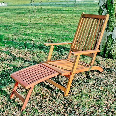 GARDEN PLEASURE Paplūdimio kėdė »Montego« Eukalyptusho...