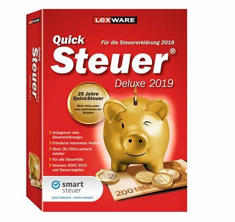 LEXWARE QuickSteuer Deluxe 2019 »Für die Einfa...