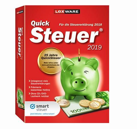 LEXWARE QuickSteuer 2019 »Für die Einfache ir ...