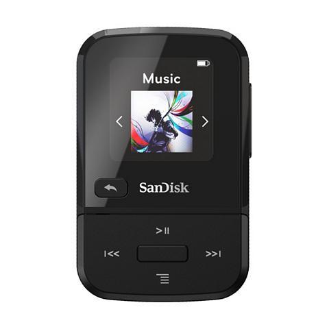 SANDISK Clip Sport Go 16GB juoda spalva