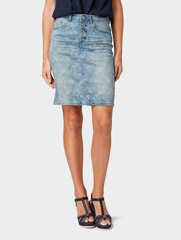 TOM TAILOR Džinsinis sijonas Džinsinis sijonas su...
