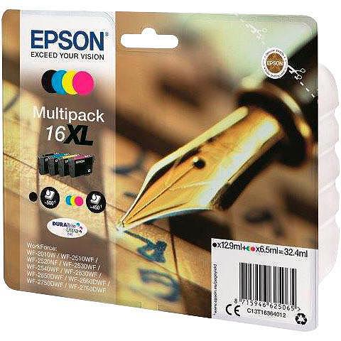 EPSON »T1636 16XL Original Kombi-Pack juoda ...