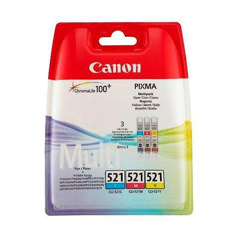 CANON »CLI-521 C/M/Y Multipack« Rašalo kaset...