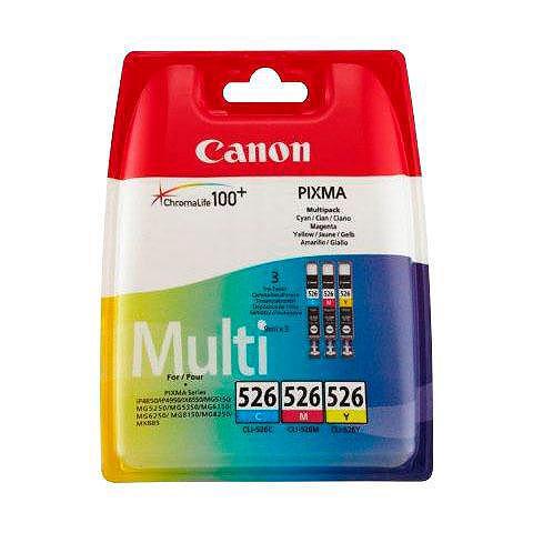 Canon »CLI-526 C/M/Y original Kombi-Pack« Ti...