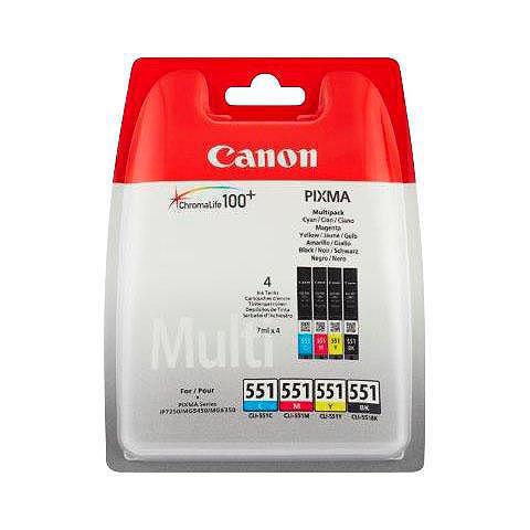 Canon »CLI-551 MULTIPACK C/M/Y/BK« Tintenpat...