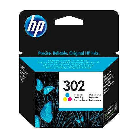 HP » 302 color (c/m/y) F6U65AE original M...