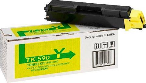 KYOCERA DOCUMENT SOLUTIONS Kyocera »Kyocera TK-590Y original 1T02...