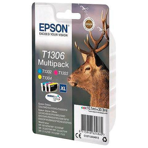 EPSON »T1306 Original Kombi-Pack Cyan Magent...