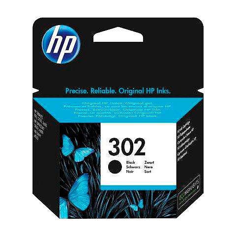 HP » 302 original F6U66AE schwarz« Tinten...