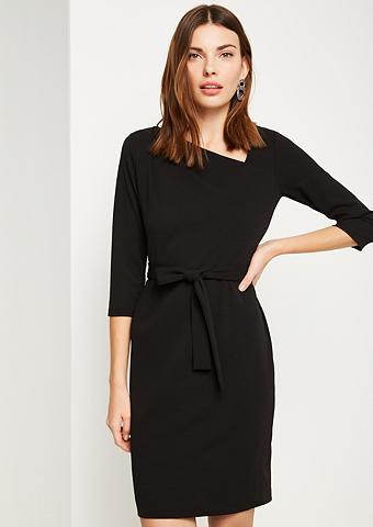 COMMA Elegantiška dalykinė suknelė su diržas...