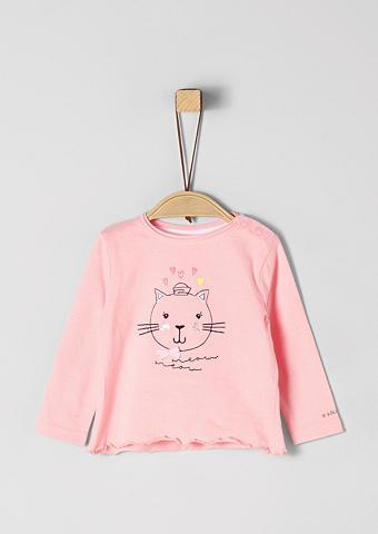 S.OLIVER JUNIOR Marškinėliai ilgomis rankovėmis su Kat...