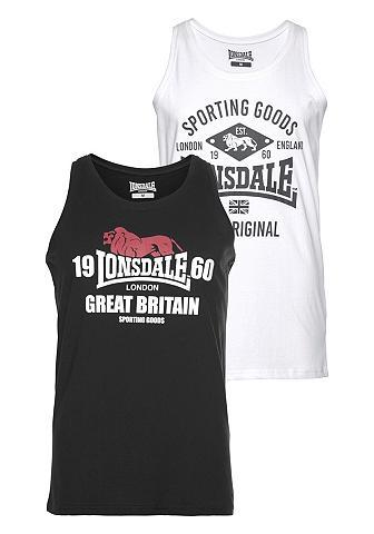 LONSDALE Marškinėliai be rankovių (Rinkinys 2 v...
