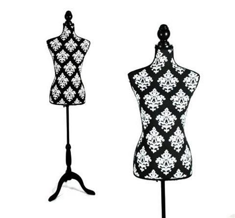 CLARIE Manekenas Black & White