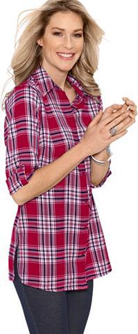 CLASSIC BASICS Ilgi marškiniai iš flanelė