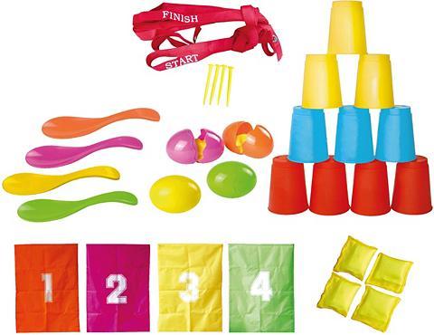 KNORR TOYS 32 dalys Kinderspiele rinkinys »Partys...