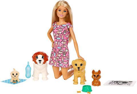 Barbie Anziehpuppe »Hundesitterin ir Welpen«