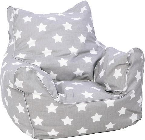 Knorrtoys ® sėdmaišis »Grey White Stars« dėl Kin...