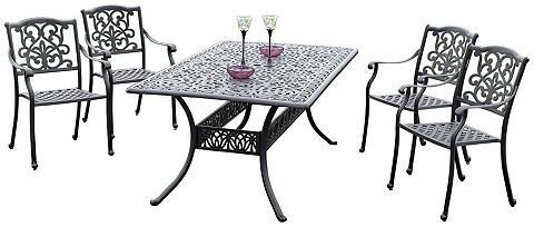 MERXX Balkono baldai »Athos« 5 vnt. 4 Foteli...