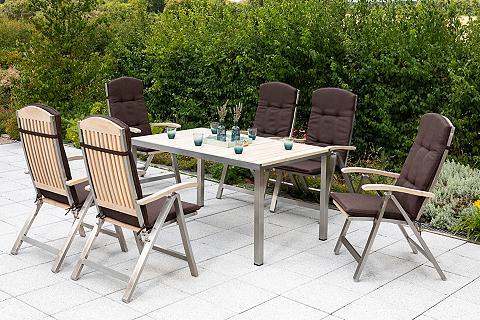 MERXX Balkono baldai »Keros« 13-tlg. 6 Fotel...