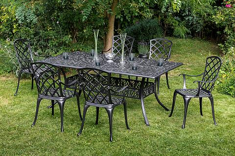 MERXX Balkono baldai »Rhodos« 7-tlg. 6 Fotel...