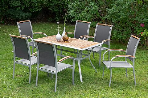 MERXX Balkono baldai »Siena« 7-tlg. 6 Foteli...