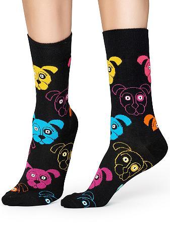 Happy Socks Socken »Dog« su bunten Hundegesichtern...