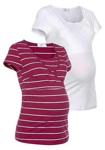 Neun Monate Marškinėliai nėščioms »Powered by Flas...