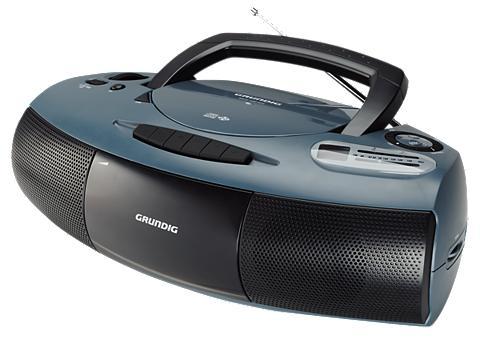 GRUNDIG Radio-CD-Spieler »RRCD 1400/schwarz«